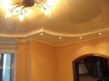 Гипсокартонный потолок с