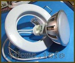 Точечный потолочный светодиодный светильник